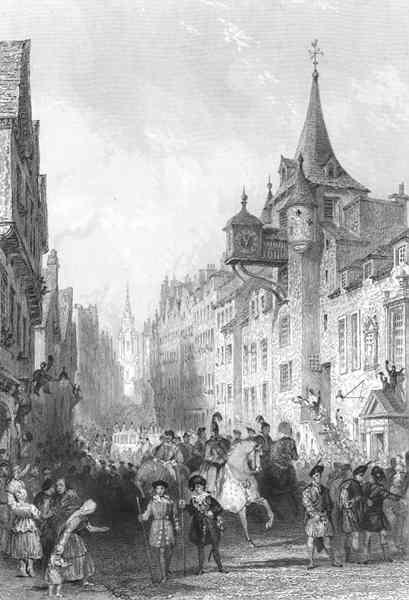 Визит короля Георга в Эдинбург, 1822