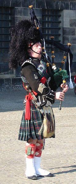 Традиционный образ шотландца сегодня
