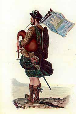 Рафинированный образ горца в викторианское время.