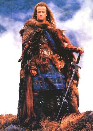 Еще один голливудский образ шотландского горца